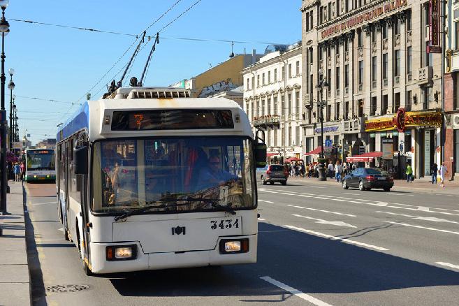trolleybus-in-st-petersburg