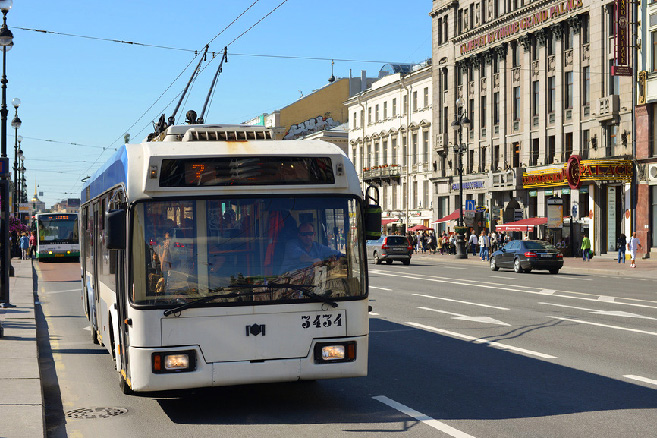 trolleybus-in-st-petersburg
