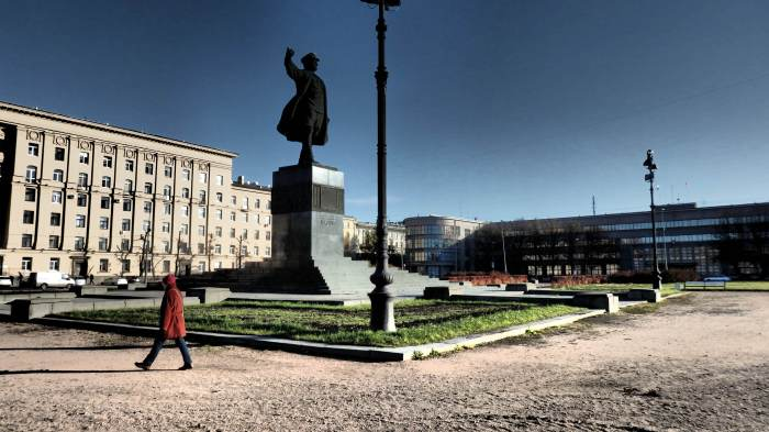 Kirov Square, Petrograd, October 28, 2015. Photo by the Russian Reader