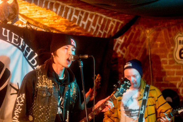 Punk rock concert at Zis Club to benefit the Anarchist Black Cross. Photo courtesy of Sergey Chernov