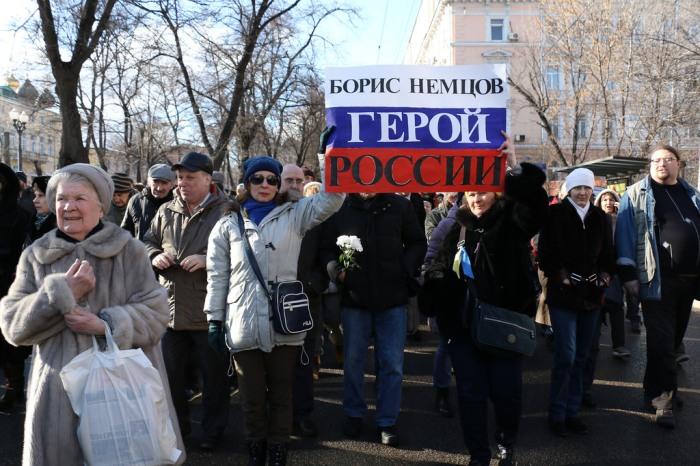 """""""Boris Nemtsov, Russian Hero."""" Photo by and courtesy of Anatrra"""