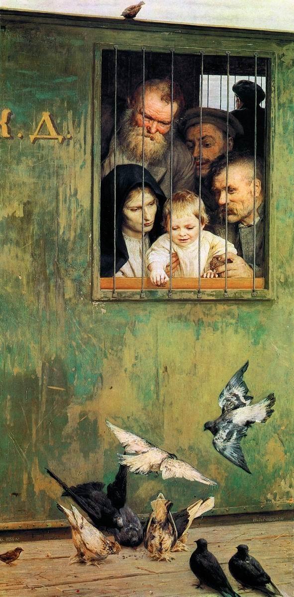 Nikolai Yaroshenko, Life Is Everywhere, 1888. Image courtesy of Wikipedia