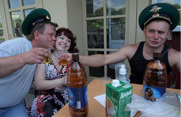 Border Guard Service veterans celebrating their professional holiday, May 28