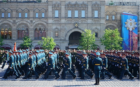 Victory Day parade in Moscow, May 9, 2016