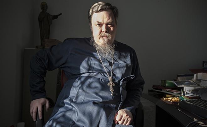 Father Vsevolod Chaplin. Photo courtesy of Realnoye Vremya and Anna Artemieva (novayagazeta.ru)