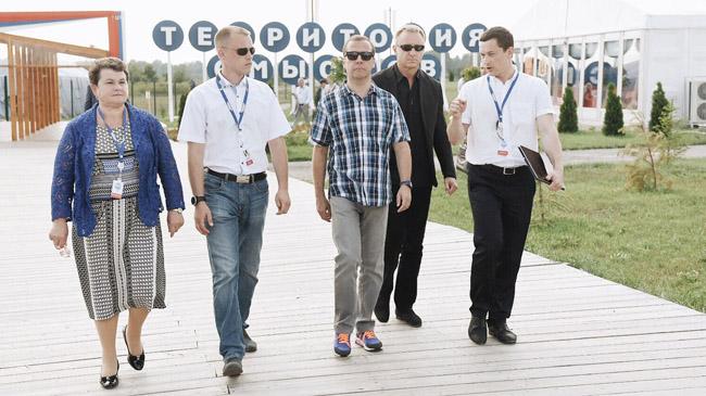 Dmitry Medvedev at Terra Scientia youth forum. Photo courtesy of Zebra TV