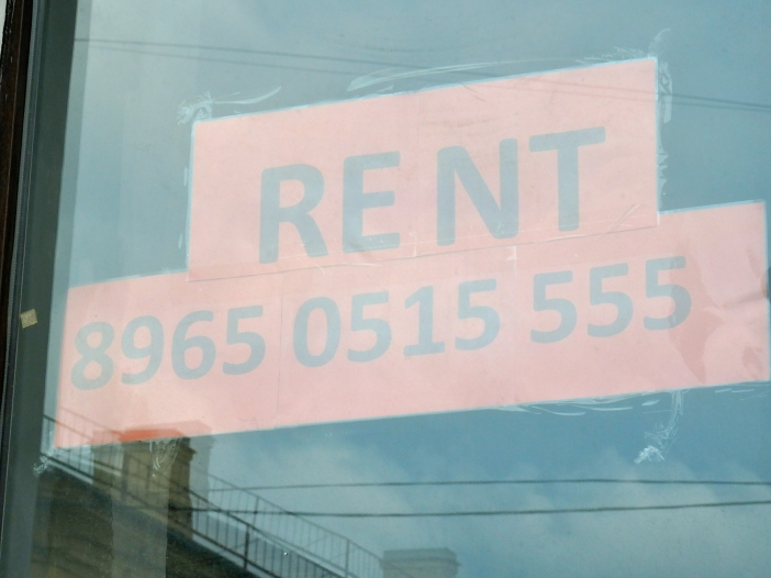 More commercial real estate for rent in the city center.