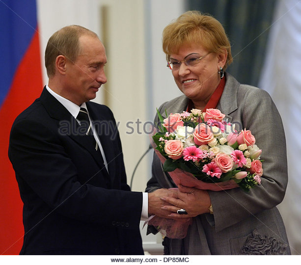 vladimir-putin-and-rector-of-stpetersburgs-state-university-ludmila-dp85mc