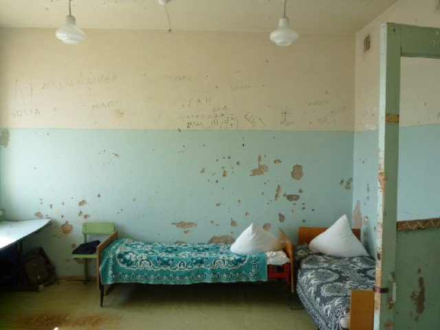 Room in Children's Tuberculosis Hospital, Astrakhan, 2011. Photo courtesy of uglich_jj