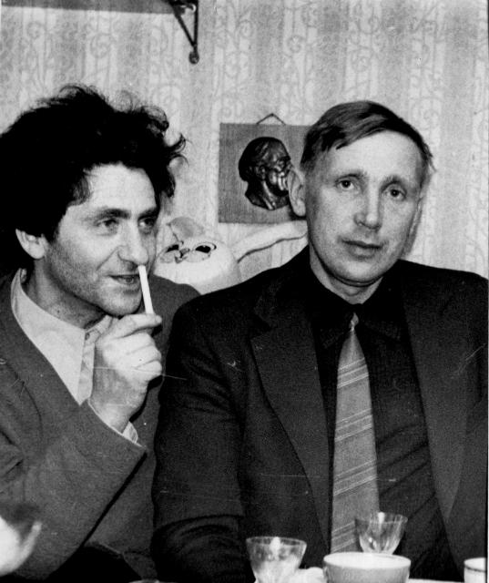 Valery Ronkin and Sergey Khakhayev, Leningrad, 1976