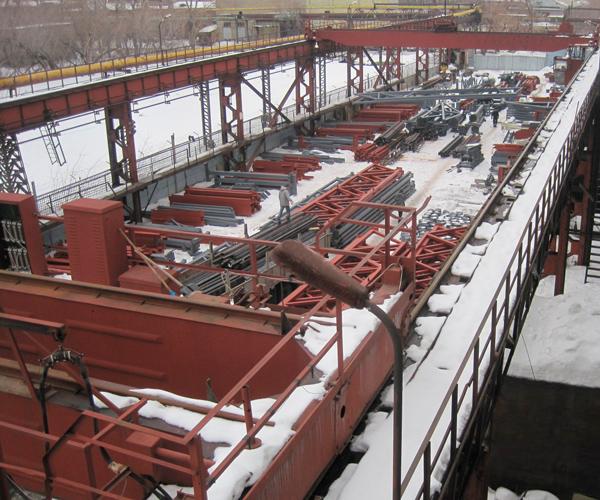 Techsteel facilities in Novosibirsk