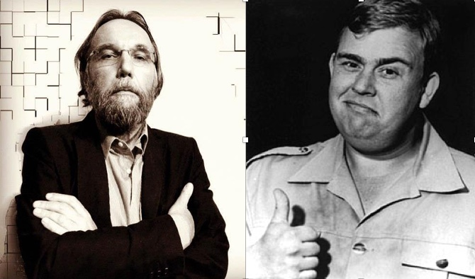 Alexander Dugin and John Candy: Not Separated at Birth