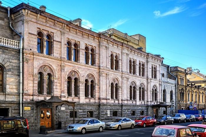 Kushelev-Bezborodko Palace on Gagarin Street, Petersburg