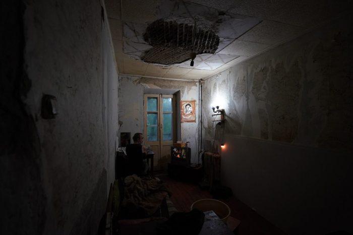 Жилец одного из домов в Барнауле