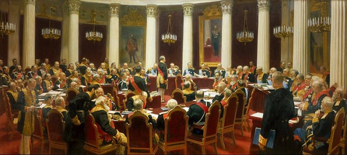 800px-Ilya_Repin_-_Ceremonial_Sitting_of_the_State_Council_on_7_May_1901_Marking_the_Centenary_of_its_Foundation_-_Google_Art_Project